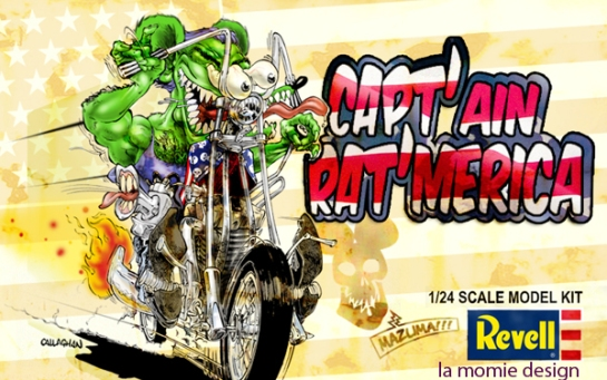 REVEL CHOPPER RAT FINK MODEL