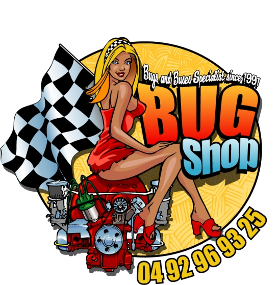 LOGO - BUG SHOP - CANNES - FRANCE