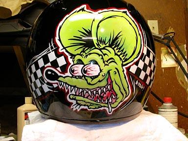 Rat Fink Helmet