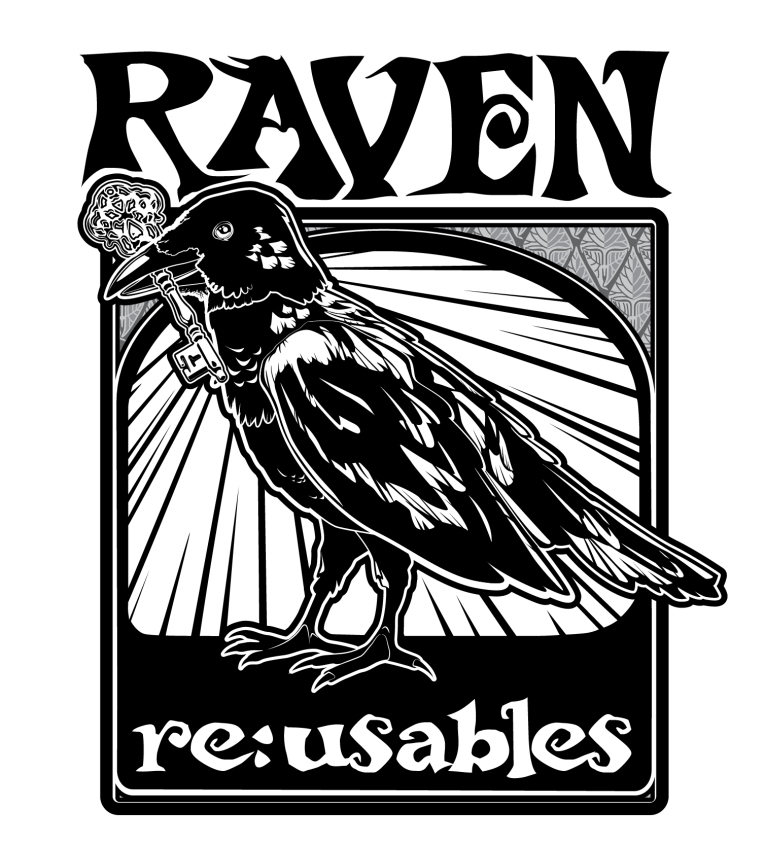 RavenReUsablesLogo-01