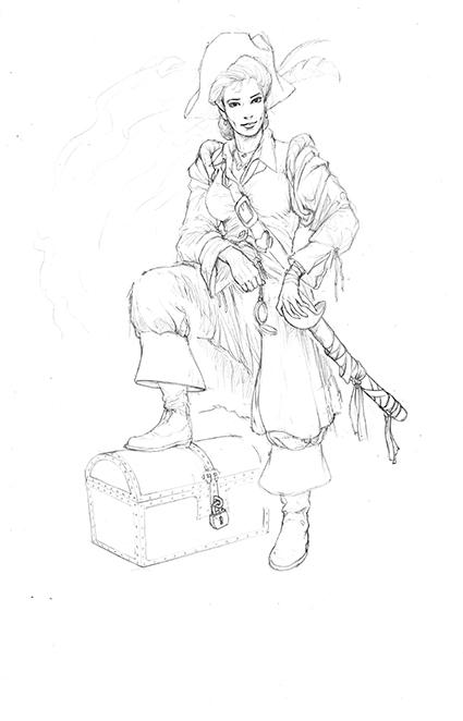Lady-Pirate-Dessin