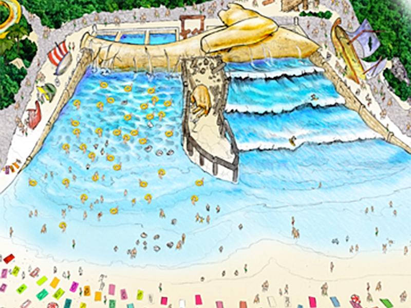 lost atlantis wave pool